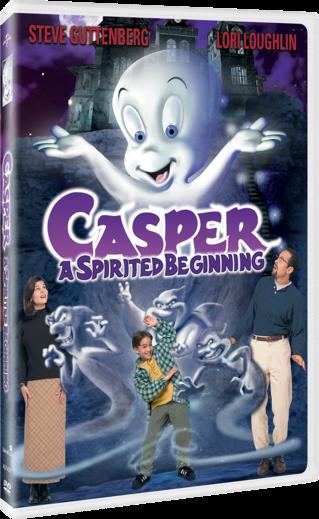 Casper A Spirited Beginning DVD