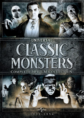 Classic Monster Complete 30 Film Collection