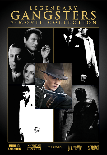 Legendary Gangsters: 5-Movie Collection