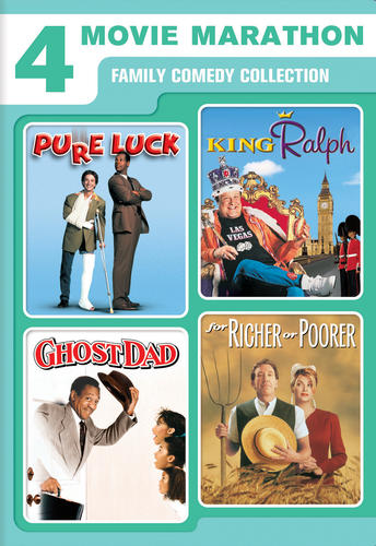 4 Movie Marathon Family Comedy Collection