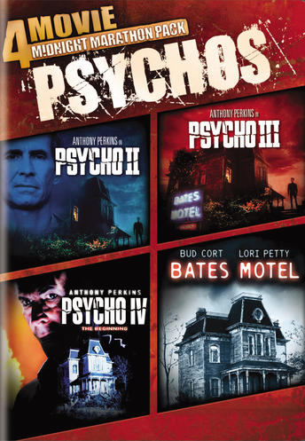4 Movie Midnight Marathon Psychos