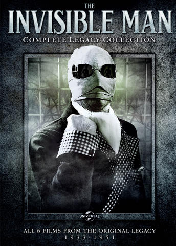 The Invisible Man Complete Legacy Collection