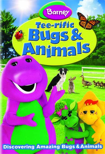 Barney Tee-rific Bugs & Animals