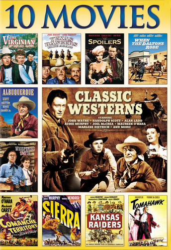 10 Movies Classic Westerns Collection