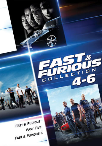 Fast & Furious Collection 4-6