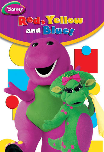 Barney: Red, Yellow, and Blue!
