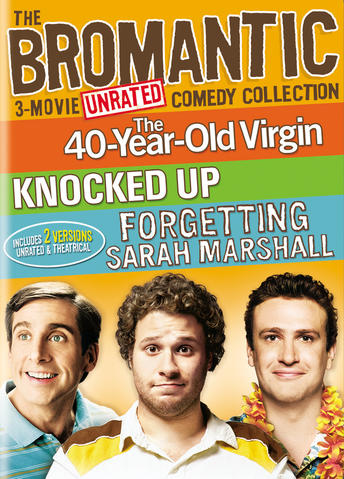 Bromantic 3-Movie Comedy Collection