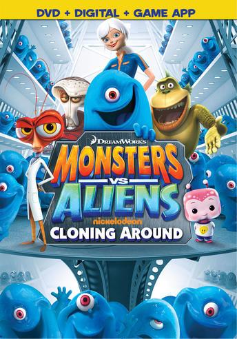 Monsters vs. Aliens: Cloning Around
