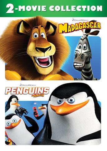 Madagascar / Penguins of Madagascar: 2-Movie Collection