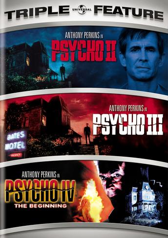 Psycho II / Psycho III / Psycho IV: The Beginning Triple Feature