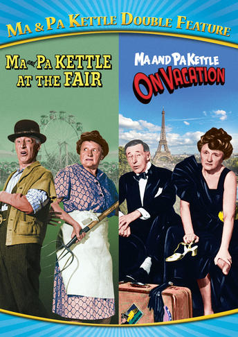 Ma & Pa Kettle Double Feature (Ma and Pa Kettle at the Fair / Ma and Pa Kettle on Vacation)