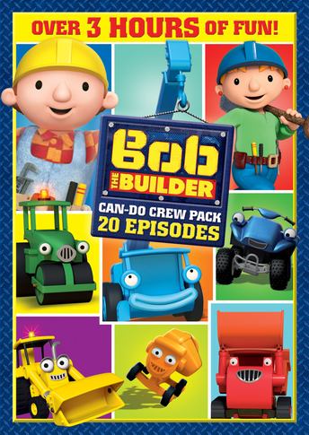 Bob the Builder: 20 Episodes Can-Do Crew Pack Movie