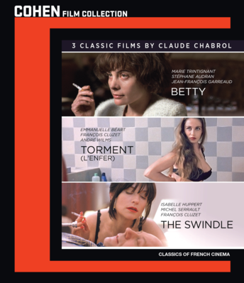 3 Classic Films By Claude Charbol