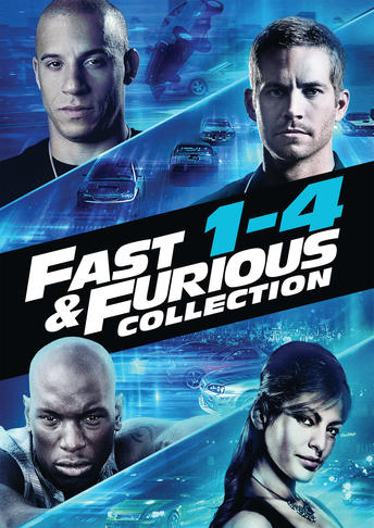Fast & Furious Collection 1-4