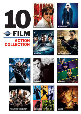 Universal 10 Film Action Collection