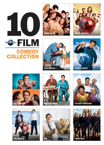 Universal 10 Film Comedy Collection
