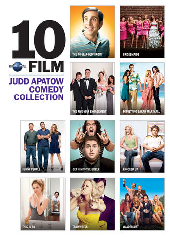 Universal 10 Film Judd Apatow Comedy Collection