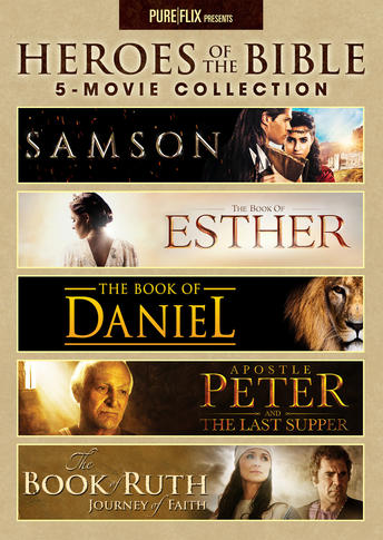Heroes Of The Bible 5 Movie Collection