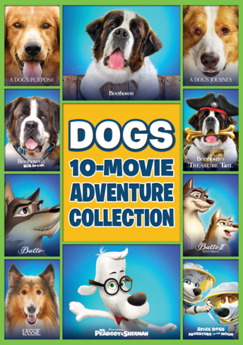 Dogs 10 Movie Adventure Collection