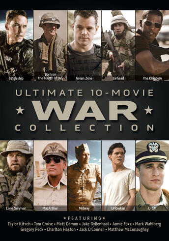 Ultimate 10-Movie War Collection