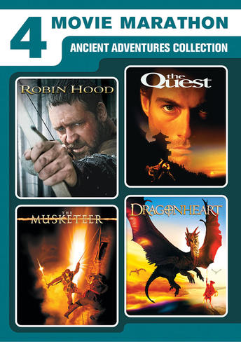 Ancient Adventure Collection (Robin Hood / The Quest / The Musketeer / Dragonheart)