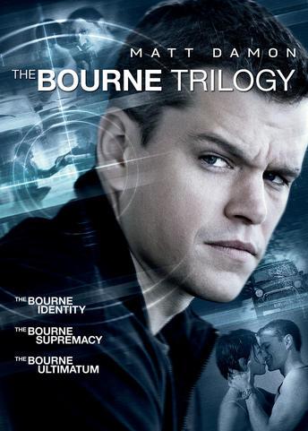 The Bourne Trilogy (Bourne Identity / Bourne Supremacy / Bourne Ultimatum)