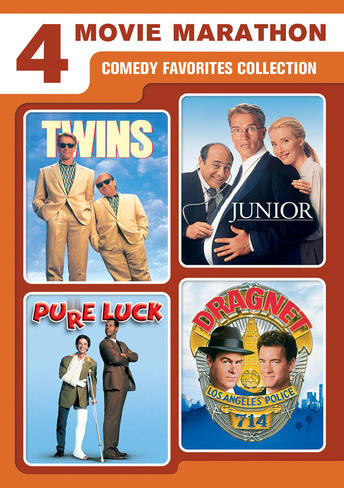 Comedy Favorites Collection (Twins / Junior / Pure Luck / Dragnet)