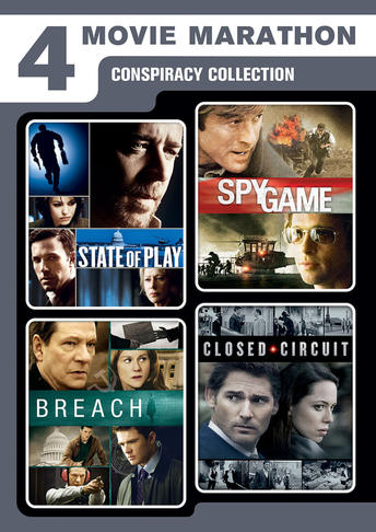 Conspiracy Collection (State of Play / Closed Circuit / Spy Game / Breach)