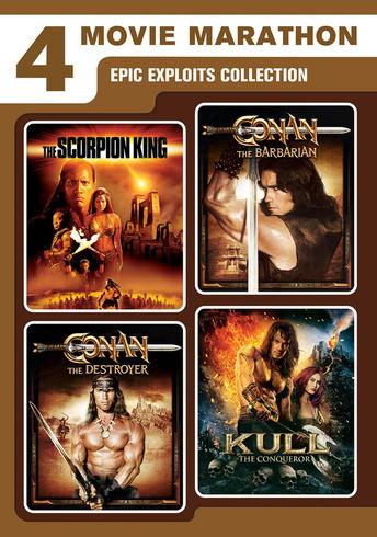 Epic Exploits Collection (The Scorpion King / Kull the Conqueror / Conan the Barbarian / Conan the Destroyer)