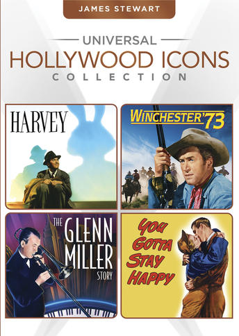 James Stewart (Harvey / Winchester '73 / The Glenn Miller Story / You Gotta Stay Happy)