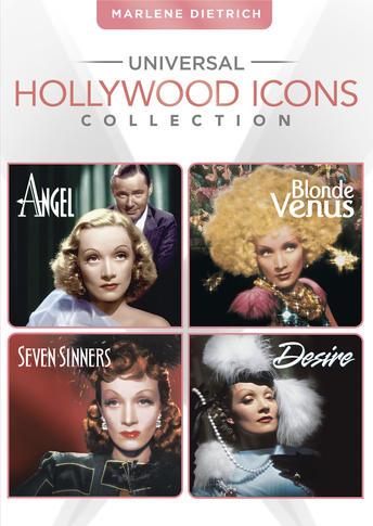 Marlene Dietrich (Blonde Venus / Desire / Angel / Seven Sinners)