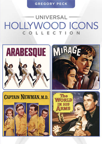 Gregory Peck (Arabesque / Mirage / Captain Newman, M.D. / The World in His Arms)