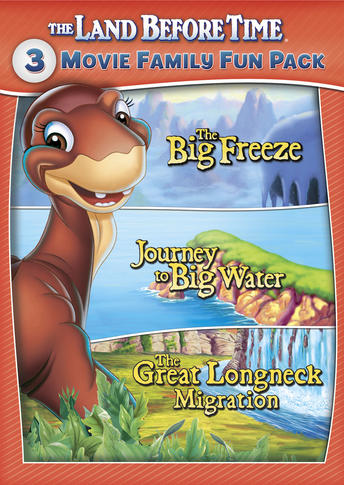 The Land Before Time 3-Movie Family Fun Pack