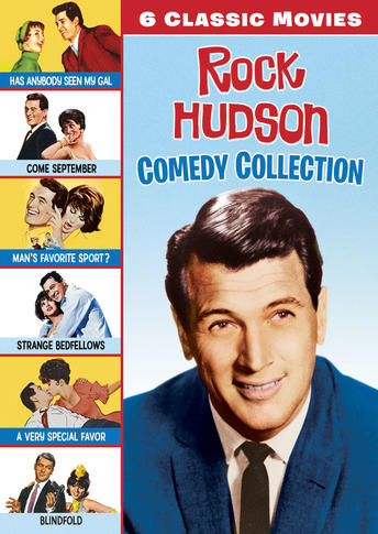 Rock Hudson Comedy Collection