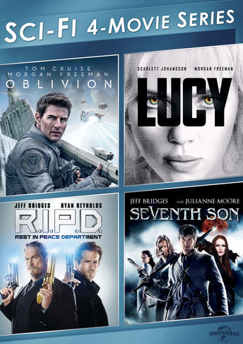Sci-Fi 4-Movie Series (Oblivion / Lucy / R.I.P.D. / Seventh Son)