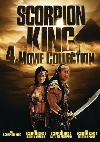Scorpion King 4-Movie Collection