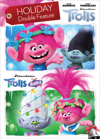 Trolls / Trolls Holiday - Holiday Double Feature