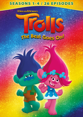 Trolls: The Beat Goes On! - Seasons 1 - 4