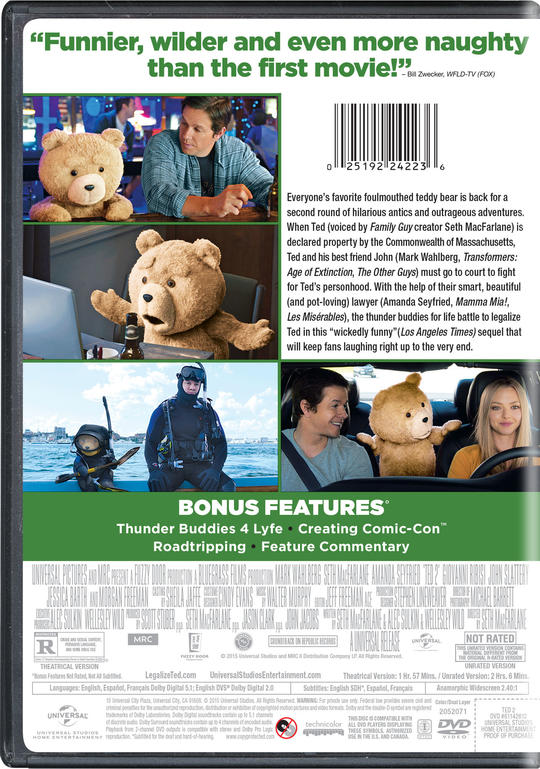 Ted 2 Own Watch Ted 2 Universal Pictures