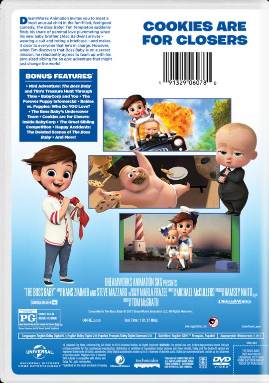 The Boss Baby Watch On Blu Ray Dvd Digital On Demand