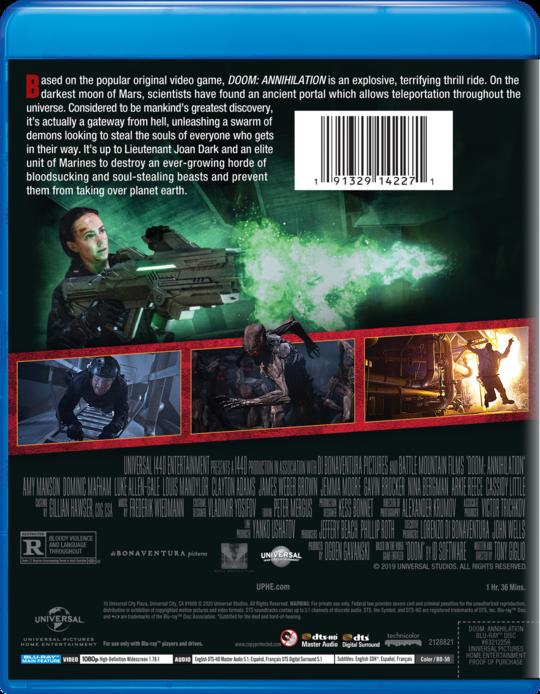 Doom Annihilation Own Watch Doom Annihilation Universal Pictures