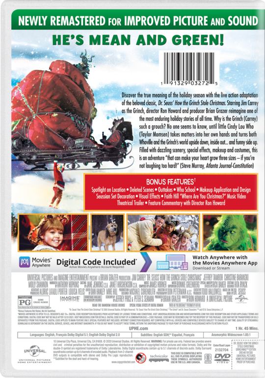 How The Grinch Stole Christmas 2021 Megashare9 Dr Seuss How The Grinch Stole Christmas Own Watch Dr Seuss How The Grinch Stole Christmas Universal Pictures