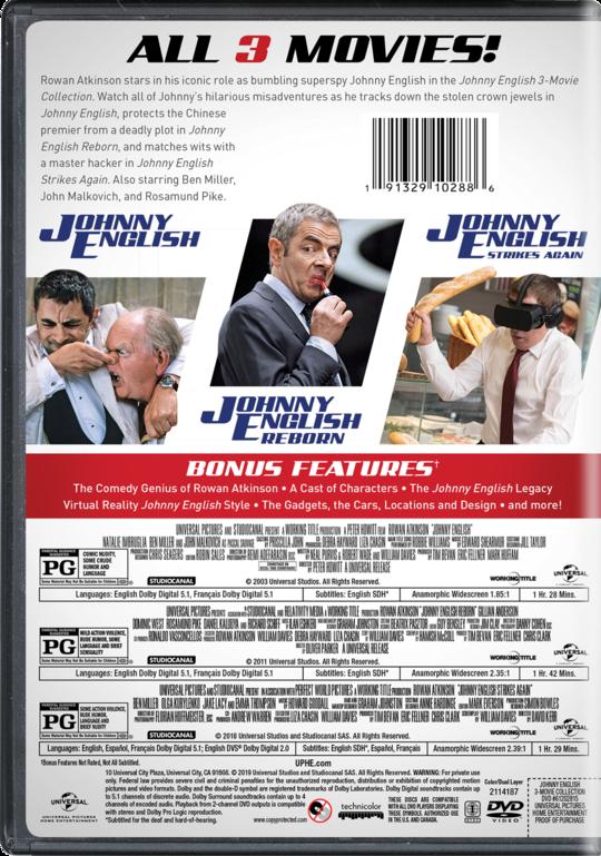Johnny English Strikes Again | Movie Page | DVD, Blu-ray