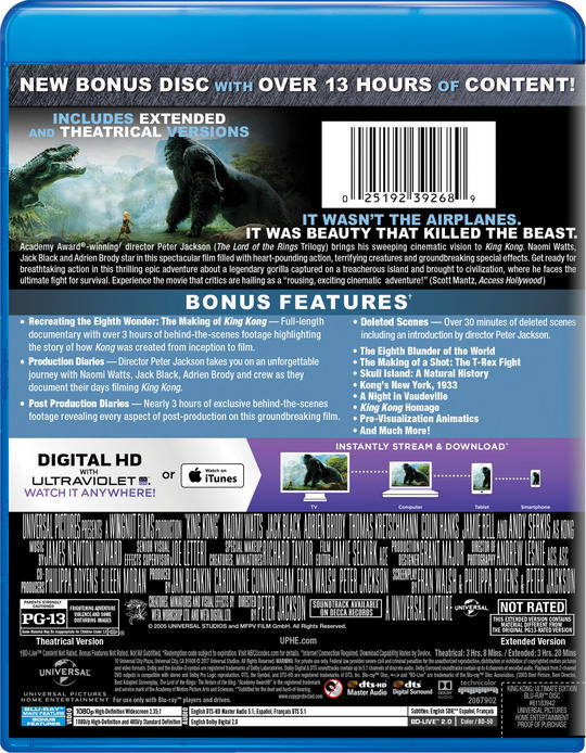 King Kong   Movie Page   DVD, Blu-ray, Digital, On Demand