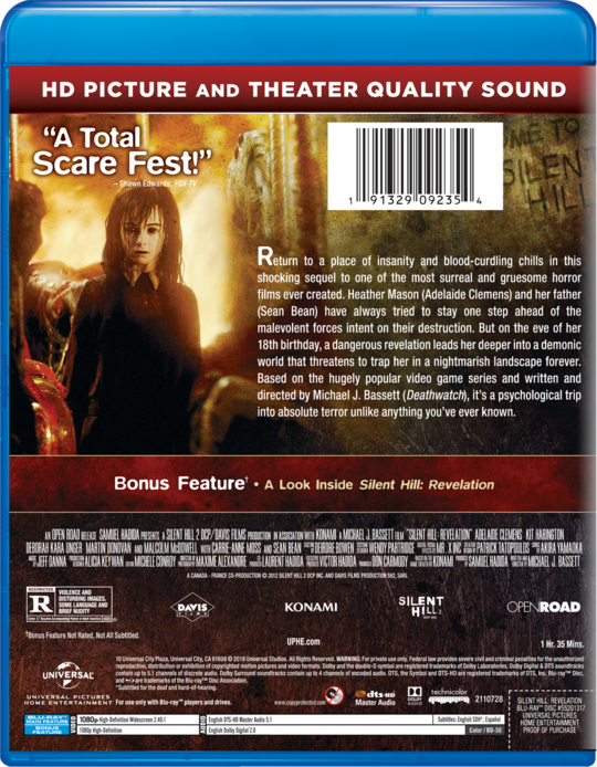 Silent Hill Revelation Own Watch Silent Hill Revelation Universal Pictures