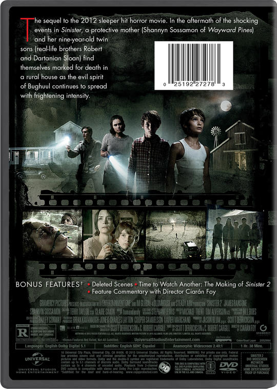 Sinister 2 Own Watch Sinister 2 Universal Pictures
